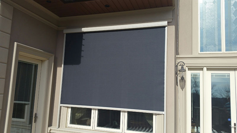 Motorized Outdoor Blinds And Sunscreens In Vaughan