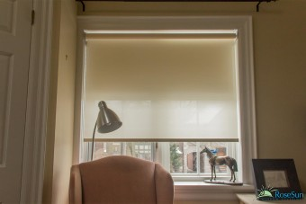 Motorized-Roller-Blinds-Brown