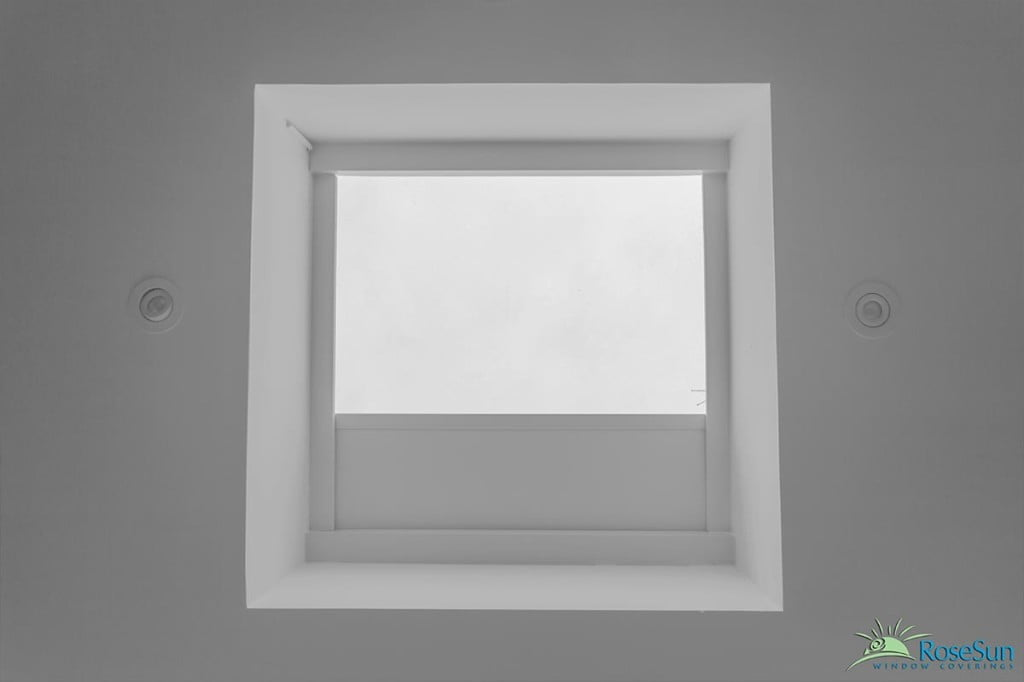 Motorized Skylight Shades Blinds Toronto Remote