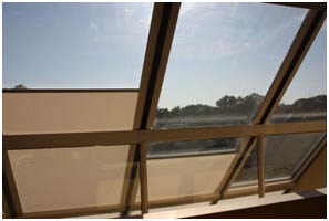 Motorized-Skylight-Solar-Blind