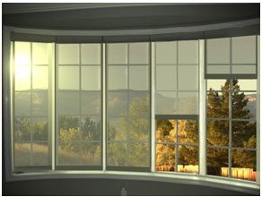 Motorized roller shades and blinds in toronto vaughan for Motorized solar shades for windows