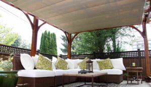 Outdoor Residential Shades Patio