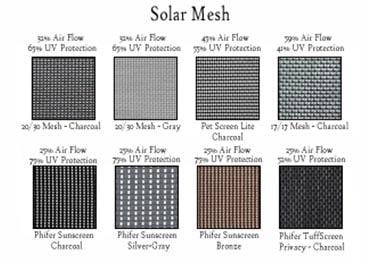 Solar mesh