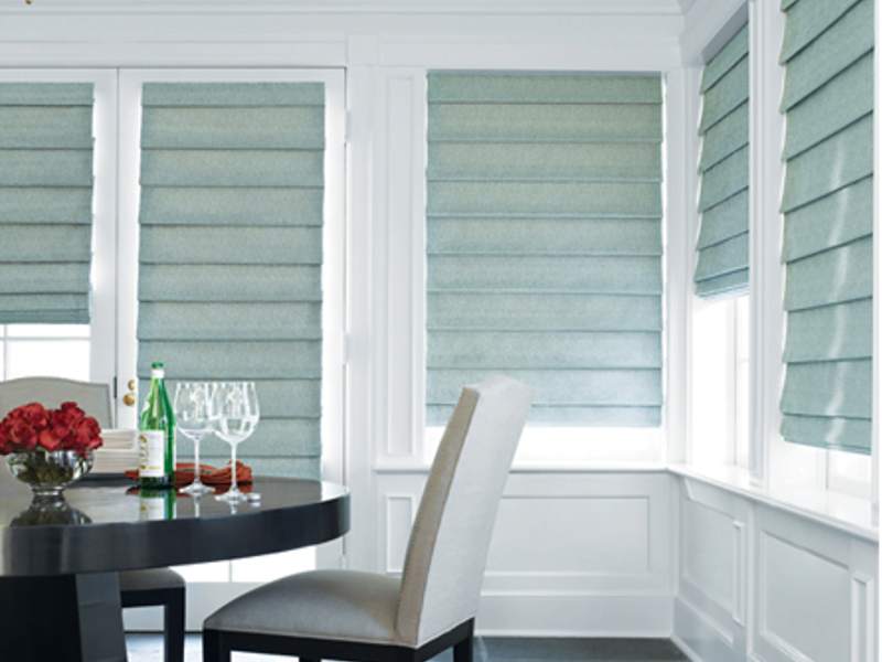 Motorized Roman Shades And Blinds