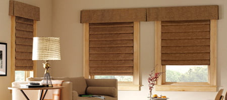 Motorized Roman Shades And Blindsrose Sun Window Coverings