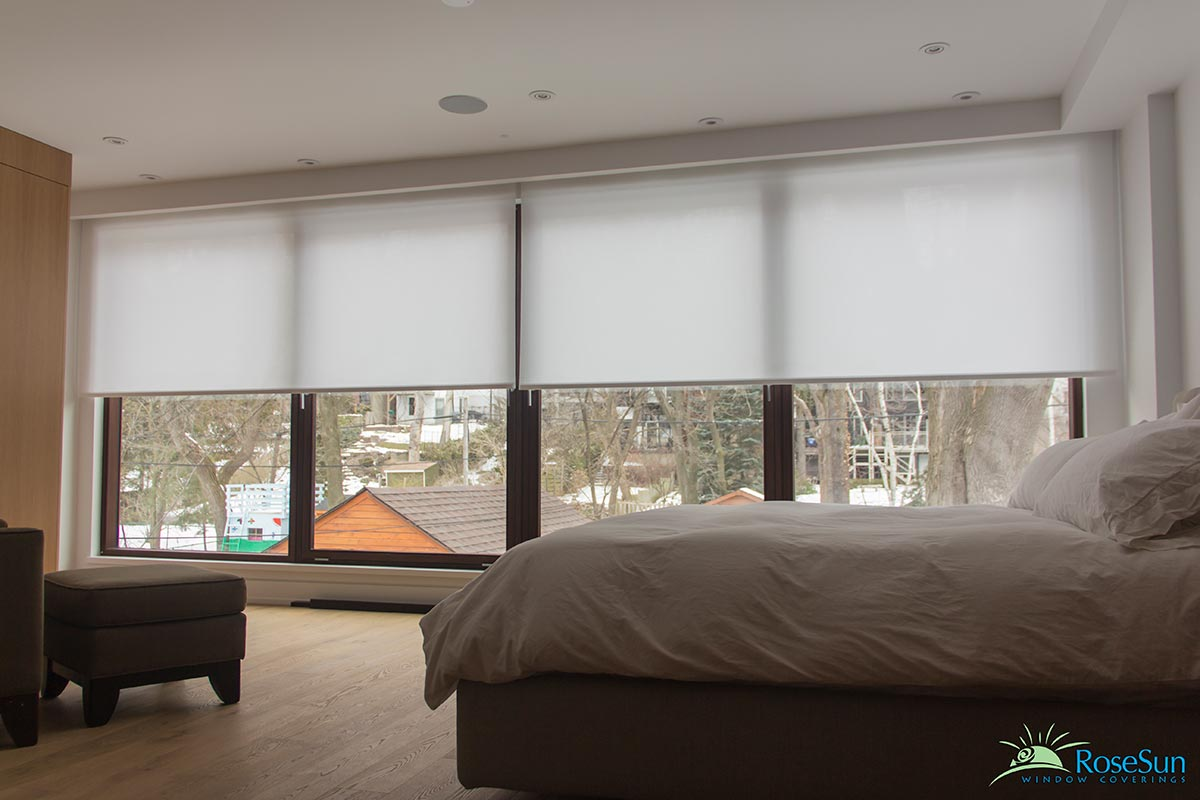 Image for motorized roller blinds in Vaughan