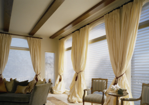 Image of window treatment to keep your natural light