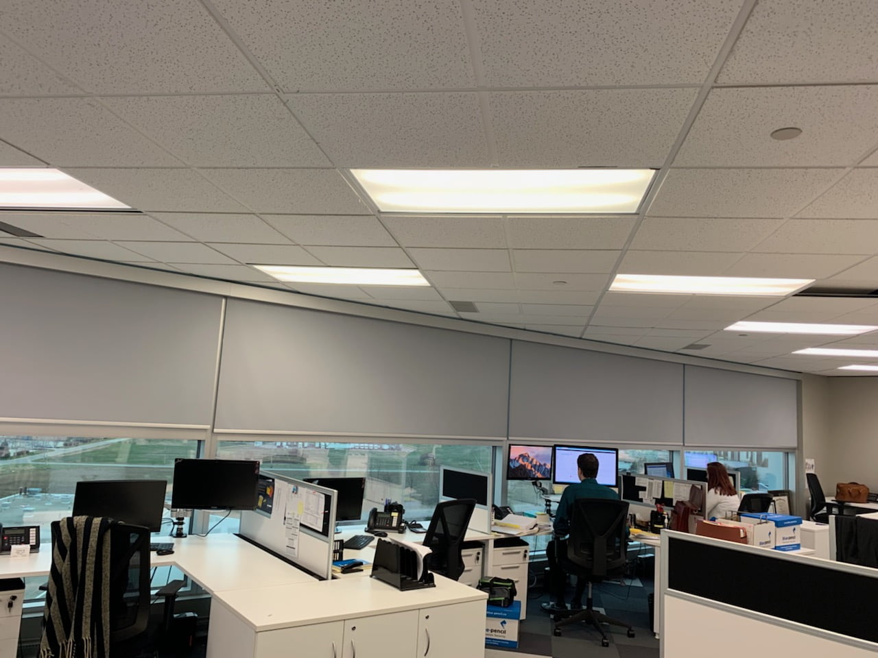 Automated Blinds for Office energy savings